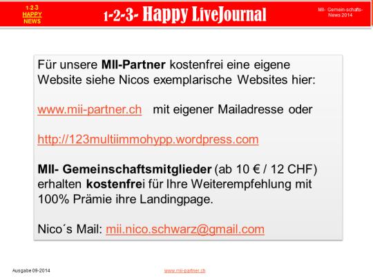 Eigene Websites für Partner