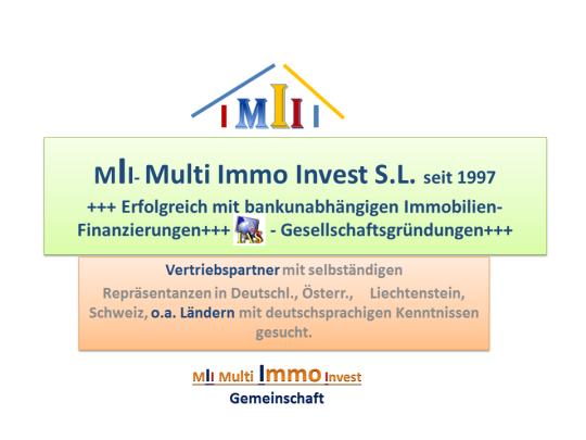 Multi Immo Invest S.L. seit 1997