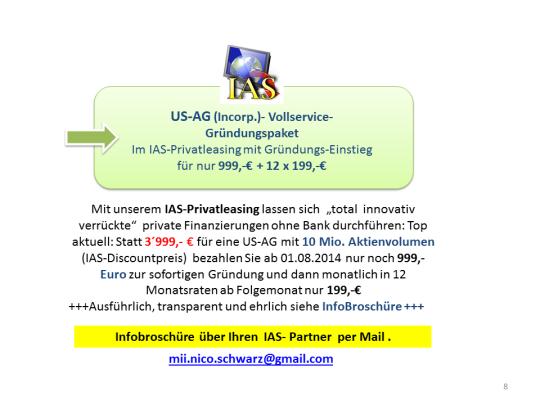 AFG-Privatleasing für 10 Mio. US-AG