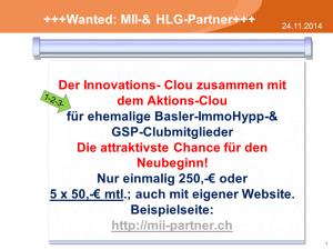 Innovations-Clou für ehemalige Basler Hypp-Mitglieder