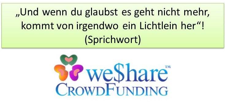 WeShare-Grosses Lichtlein