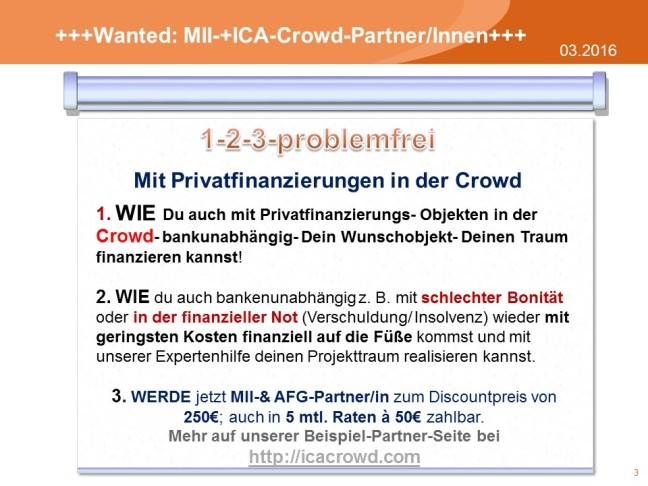 Wanted MII+AFG-Club Partner(2)